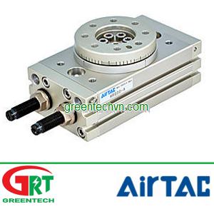 Rotary cylinder/ pneumatic / double-acting / rack-and-pinion | HRQ series | Airtac Vietnam | Khí nén
