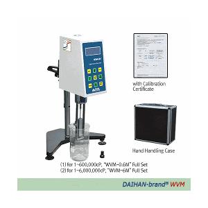 Máy đo độ nhớt Daihan WVM-0.6M & WVM-6M, 1-6,00,000 cP