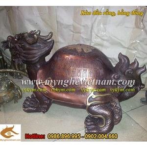 Rùa đầu rồng dài 50cm, long quy phong thủy