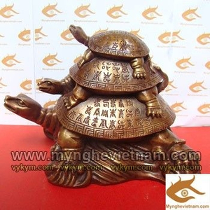 Rùa phong thủy, Tam Quy, Rùa Cõng con, Rùa chữ Thọ