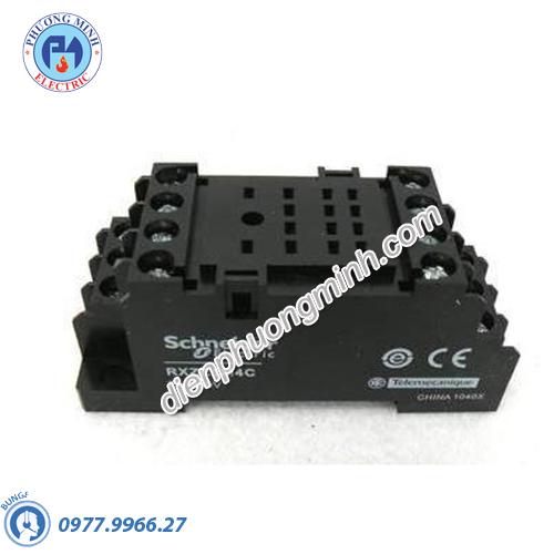 Đế cắm Rơ le REXO 4CO - Model RXZE1M4C