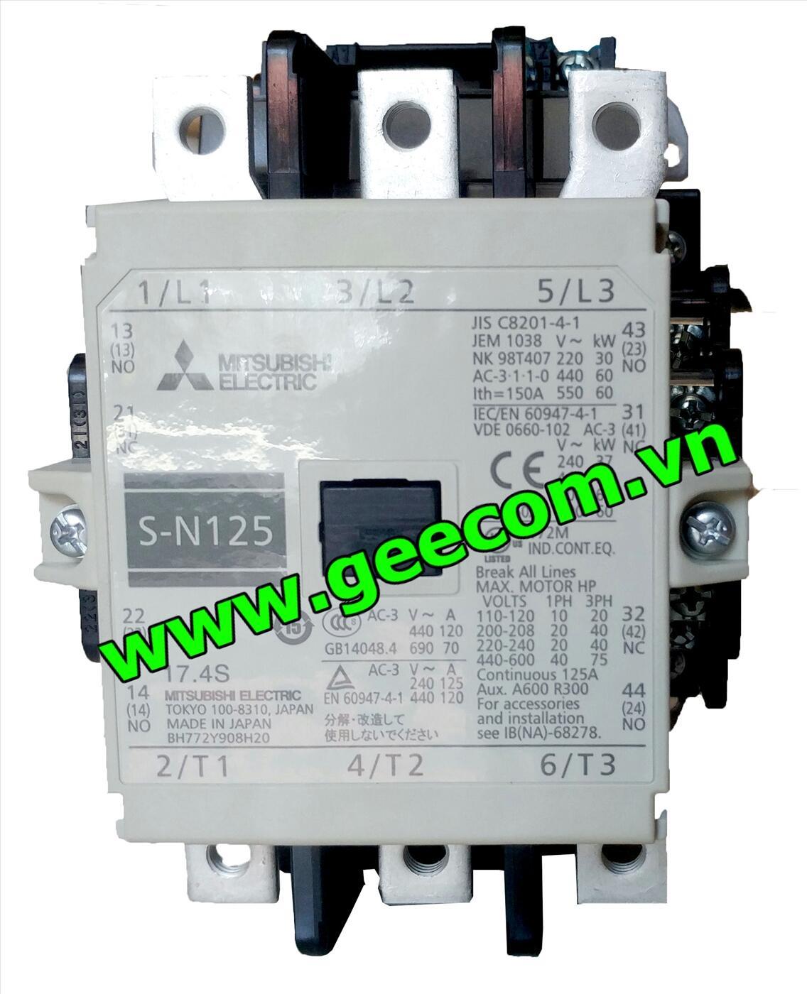 Khởi Động Từ 3P S-N150 150A