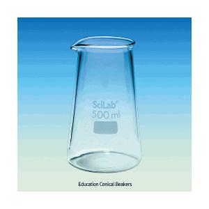 Cốc thủy tinh hình nón Scilab