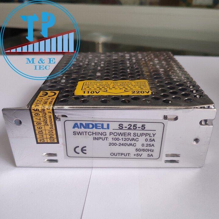 Bộ nguồn tổ ong 5V 5A 25W