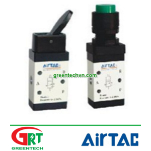 S3HS-08 | Airtac S3HS-08 | Công tắc điều khiển khí nén | Manual Air Valve | Airtac Vietnam