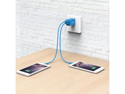 Sạc điện thoại USB 2 cổng 2.4A