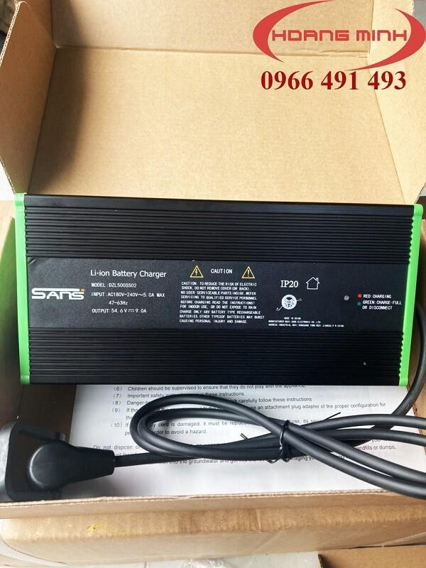 sạc xe nâng điện PTE20N 48V9A, model DZL500SS02