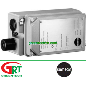 Samson T 8380   Bộ điều khiển vị trí Samson T 8380   Linear valve positioner Samson T 8380