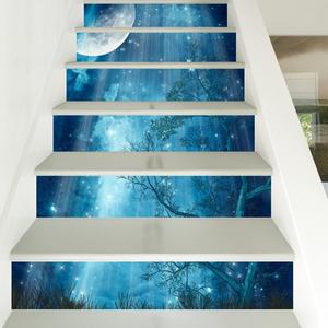 Sàn 3D Epoxy cho cầu thang