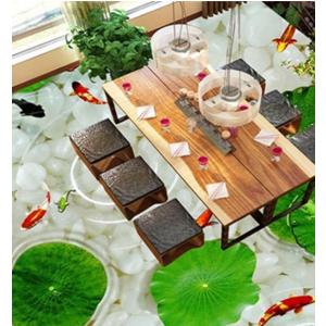 Sàn 3D Epoxy cho phòng khách