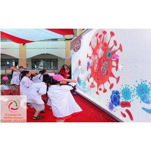 Sân chơi tương tác cho khu vui chơi trẻ em