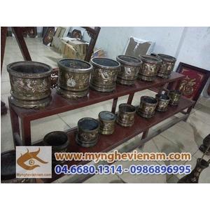 Sản xuất Bát hương đồng, bát hương khảm tam khí