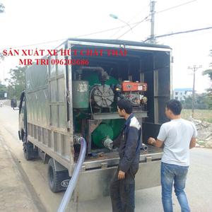 sản xuất bồn hút chất thải di động