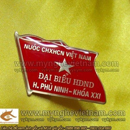Sản xuất huy hiệu cài ngực, Huy hiệu HĐND, Huy Hiệu Đảng