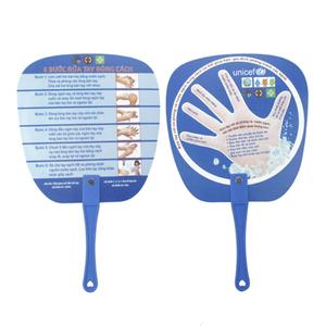 Sản xuất quạt nhựa quảng cáo, quạt cầm tay Model: PN-011