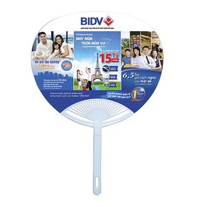 Sản xuất quạt nhựa quảng cáo, quạt cầm tay Model: PN-016