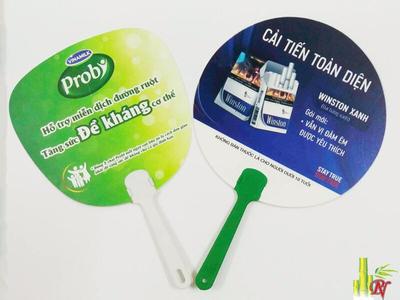 Sản xuất quạt nhựa quảng cáo tại Quận 10 - Bảng Giá Quạt Nhựa