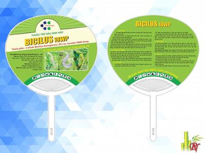 Sản xuất quạt nhựa quảng cáo tại Quận 11 - Bảng Giá Quạt Nhựa