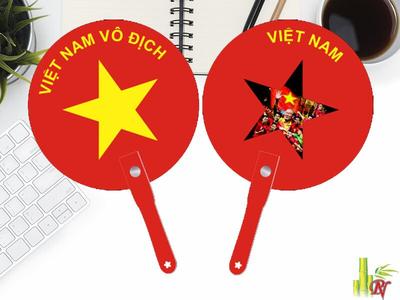 Sản xuất quạt nhựa quảng cáo tại Quận Phú Nhuận - Bảng Giá Quạt Nhựa