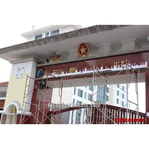 Sản xuất quốc huy quân đôi,huy hiệu quân đội,logo các ngành