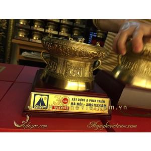 Sản xuất trống đồng 12cm làm quà tặng nhân dịp kỷ niệm