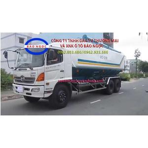 Sản xuất xe bồn chở cám, thức ăn gia súc