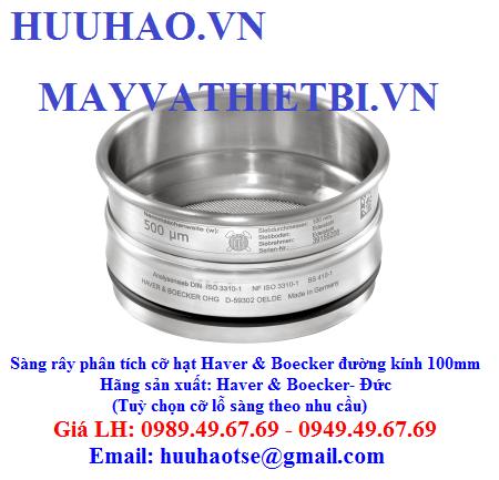 Rây sàng Haver-boecker - 1200 các cỡ hạt