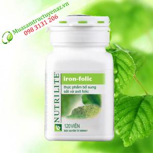 Thực Phẩm Bổ Sung Sắt và A-xit folic Nutrilite (120 viên)