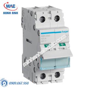 Cầu dao cách ly Hager (isolator) - Model SBN290