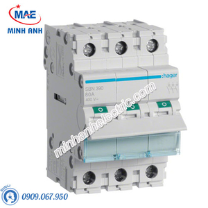 Cầu dao cách ly Hager (isolator) - Model SBN390