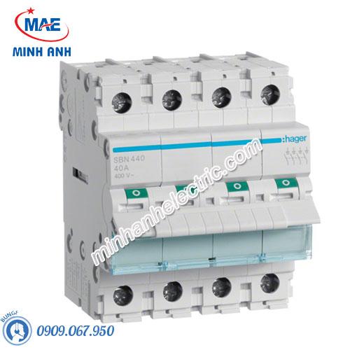 Cầu dao cách ly Hager (isolator) - Model SBN440