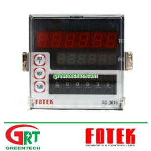 SC-3616   Fotek SC-3616   Function Counter   Fotek Việt Nam