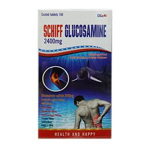 SCHIFF GLUCOSAMINE 2400MG