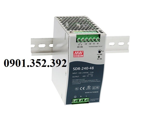 Nguồn Meanwell SDR-240-24
