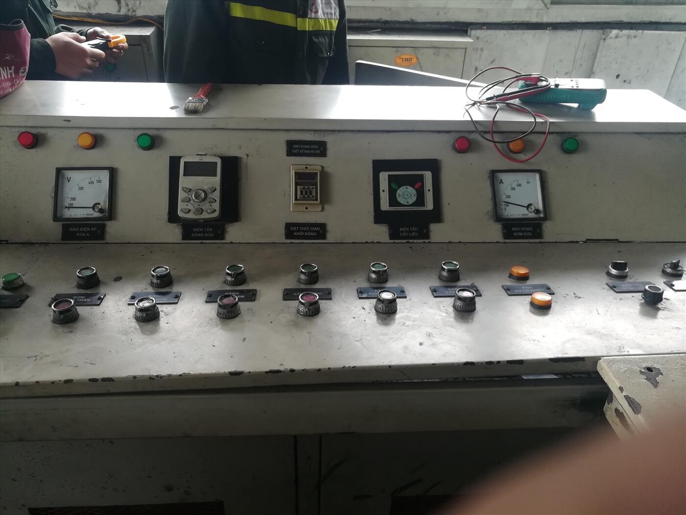 sửa chữa máy biến tần công ty than đông bắc quảng ninh