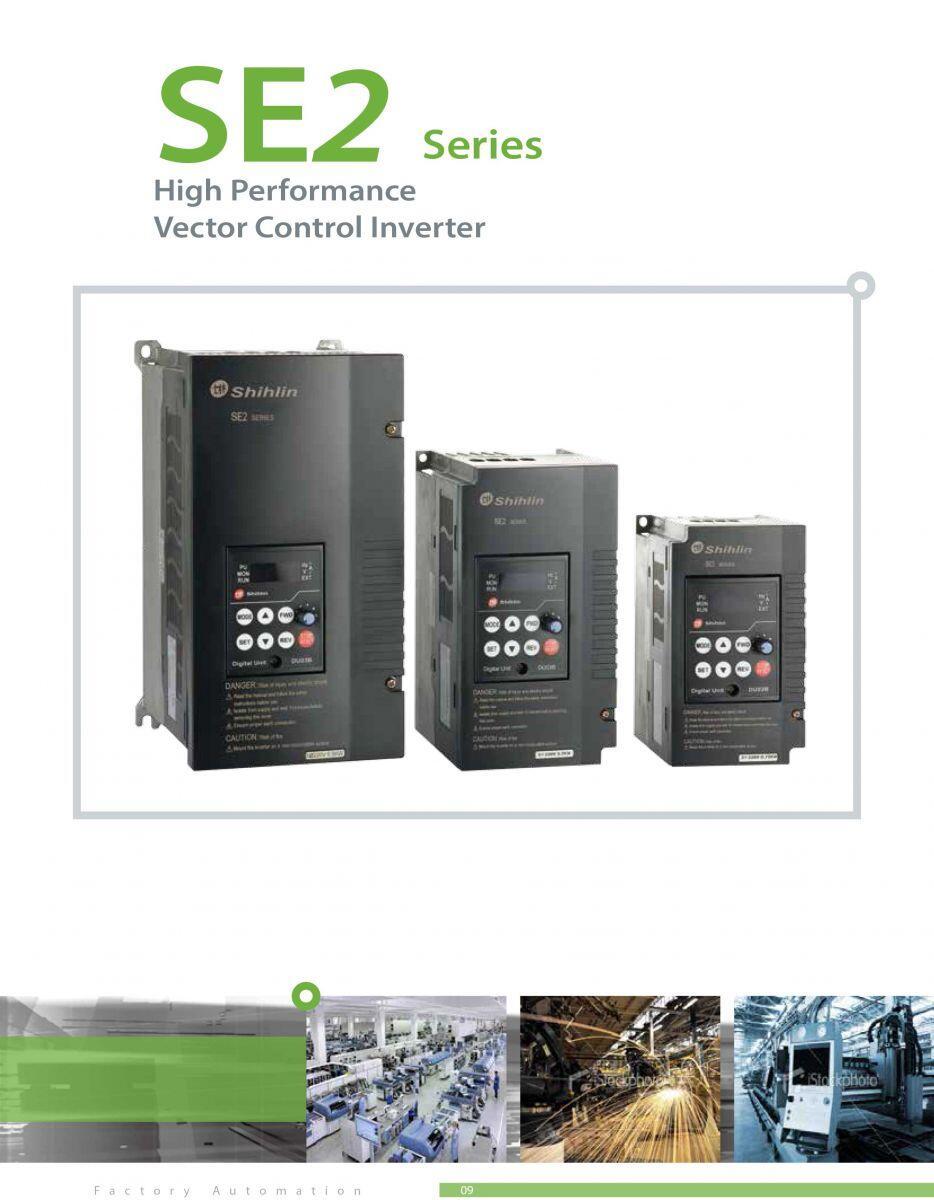 SE2-023-1.5k , Sửa Biến tần SE2 Series , Biến tần Shihlin SE2-023-1.5k-Dl