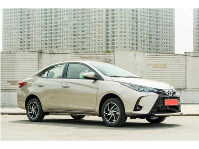 Các mẫu xe sedan phân khúc B đồng loạt giảm giá tại Việt Nam đầu quý II/2021