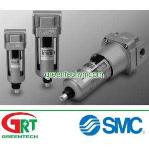 Separator and drain 200 - 500 L/min, max. 1 MPa | AMJ series | SMC Vietnam | SMC Thiết bị