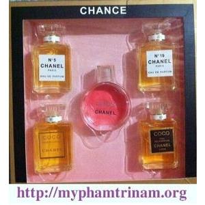 SET 5 CHAI nước hoa Chanel dành cho nữ