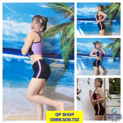 Set đồ bơi nữ 2 mảnh loại ngắn tay NN007