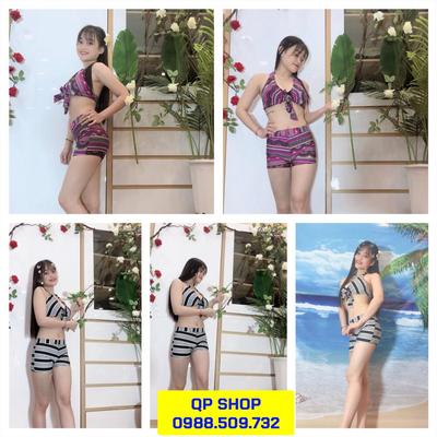 Set đồ bơi nữ loại ngắn tay NN006