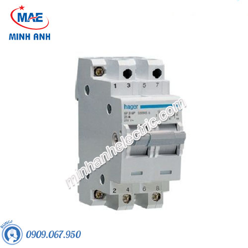 Cầu dao cách ly Hager (isolator) - Model SF219F