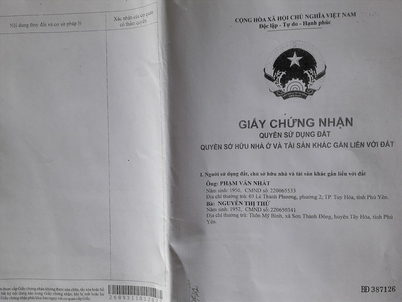 Dịch Vụ Đăng Bộ Nhà Đất Quận Bình Tân