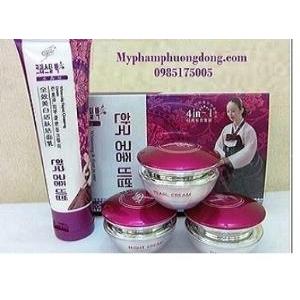 SHUIJINGBAI - Thủy Tinh Bạch Hồng .Bộ kem đặc trị nám, tàn nhang, dưỡng trắng da cao cấp Hàn Quốc