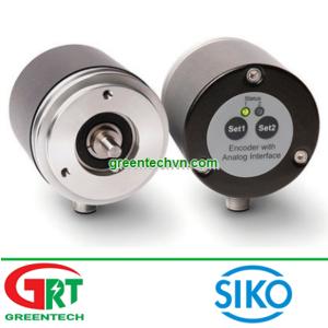 Siko AV58M | Encoder | Absolute rotary encoder | Bộ mã hóa vòng quay tương đối AV58M | Siko Vietnam