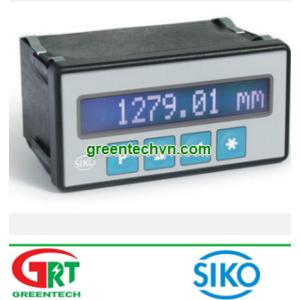 Siko MA505 | LCD display / 5-digit / 7-segment | Màn hình hiển thị Siko MA505 | Siko Vietnam