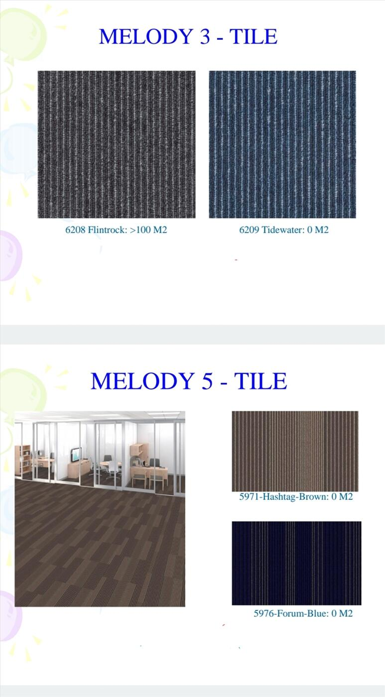 Thảm gạch Melody