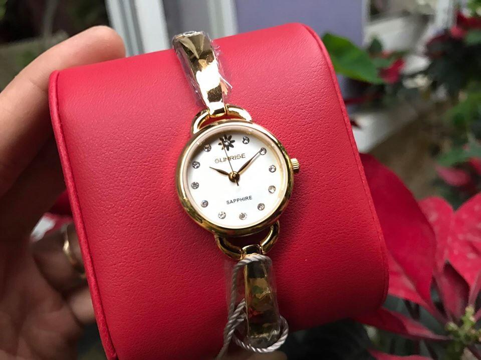 Đồng hồ lắc nữ sunrise sl661swa - kt chính hãng