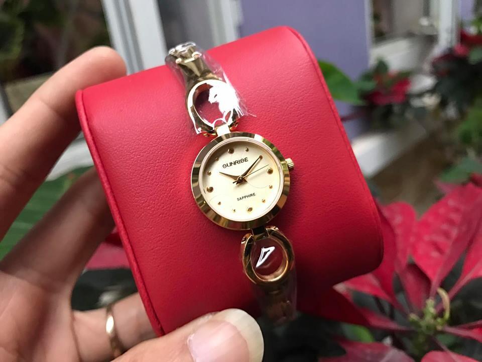 Đồng hồ lắc nữ sunrise sl675swa - kv chính hãng