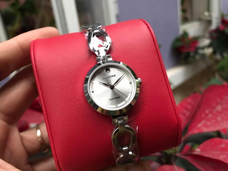 đồng hồ lắc nữ sunrise sl691swa - sst chính hãng